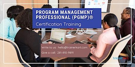 PgMP 3 day classroom Training in Shreveport, LA tickets
