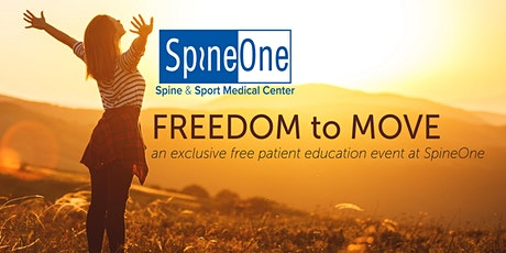 Freedom to Move: An Exclusive Free Education Event at SpineOne tickets