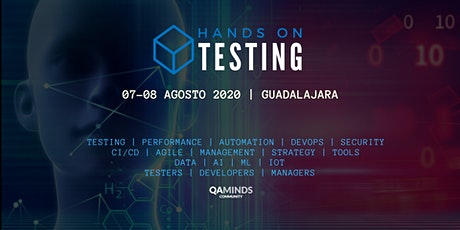 HANDS ON TESTING - AGOSTO 2020 tickets