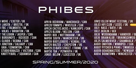 Pulse Presents - PHIBES tickets