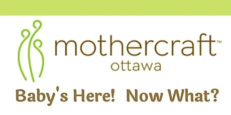 Mothercraft Ottawa: Baby's Here! Now What? Virtual Workshop bilhetes