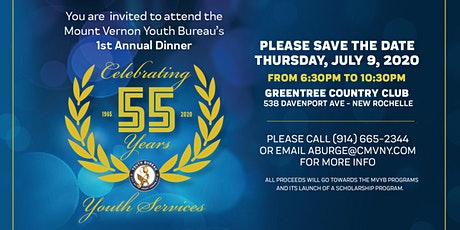 Celebrating The Mount Vernon Youth Bureau's 55th Anniversary tickets
