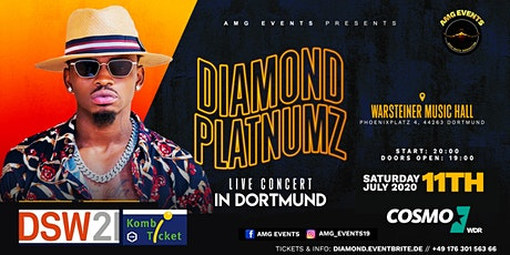 Diamond Platnumz Live Concert - Dortmund Tickets