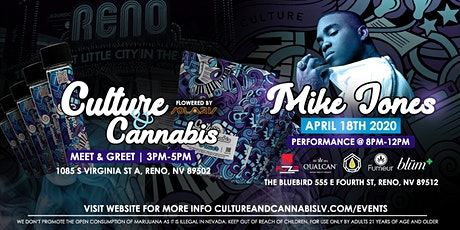 MIKE JONES at Culture & Cannabis tickets