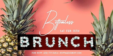 Le Souk Weekend Bottomless Party Brunch (Sunday) tickets