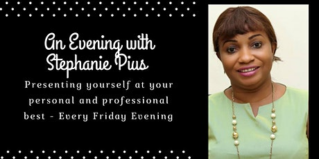 An Evening with Stephanie Pius tickets
