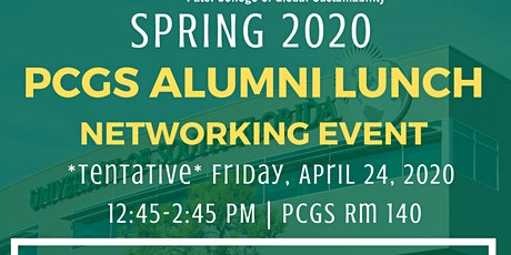 PCGS Alumni Lunch Networking Event tickets