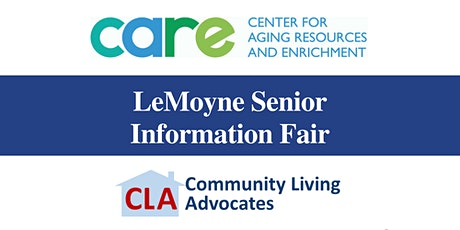Vendor Information for LeMoyne Senior Information Fair 2020 tickets