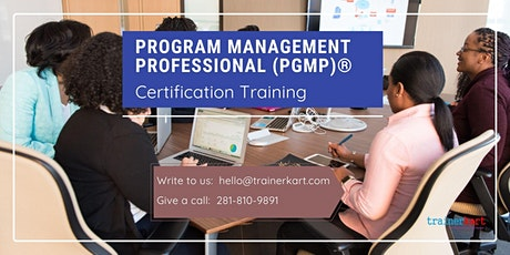 PgMP 3 day classroom Training in Fort Saint James, BC tickets