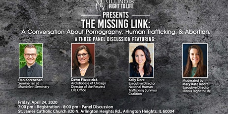 The Missing Link: A Conversation About Porn, Human Trafficking, & Abortion tickets