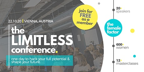 limitless - the global conference by the female factor Tickets
