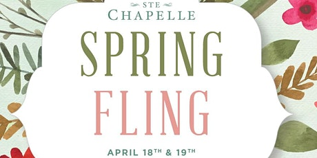 Spring Fling at Ste Chapelle tickets