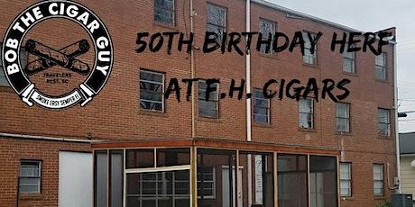 Bob The Cigar Guy Birthday Herf tickets
