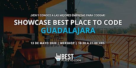 Showcase Best Place to Code Guadalajara entradas