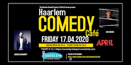 Haarlem Comedy Café April - CANCELLED (your tickets remain valid) tickets