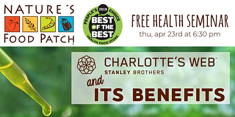 Postponed – TBD: Charlotte's Web + Its Benefits tickets