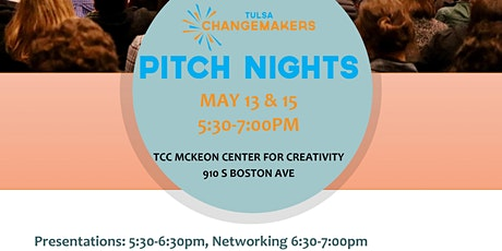 Tulsa Changemakers Spring Pitch Nights tickets