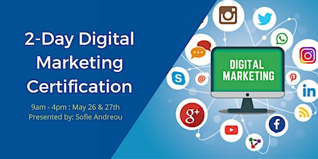 2-Day Digital Marketing Certification tickets