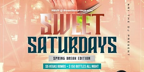 SWEET SATURDAYS - #1 ALL GIRL PARTY EVERY SATURDAY IN HOUSTON! tickets