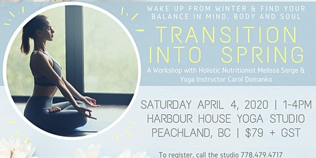 Transition Into Spring with Carol Domanko tickets