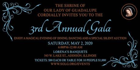 Third Annual Gala tickets