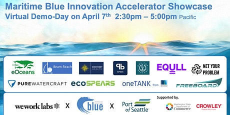 Virtual Showcase of the Maritime Blue Innovation Accelerator tickets