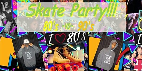 Trevon's 18th Birthday Party - 80's vs 90's Skate Party tickets