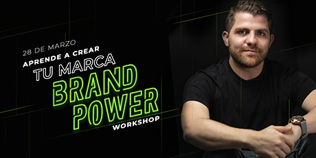 Brand Power: Aprende a crear tu marca con Frank Moreno tickets