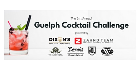 Dixon's Guelph Cocktail Challenge tickets
