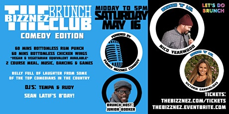 The Bizznez Brunch Club, Comedy Editon! Brunch, Laugh, Party tickets