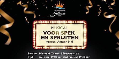 Voor Spek en Spruiten (Musical) tickets
