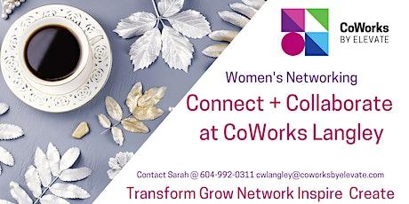 Connect + Collaborate at CoWorks Langley biglietti