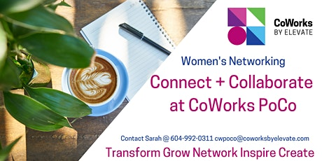 Connect + Collaborate at CoWorks Port Coquitlam tickets