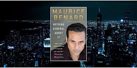 Book Revue Presents: Meet Maurice Benard on Zoom tickets