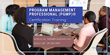 PgMP 3 day classroom Training in Quesnel, BC tickets