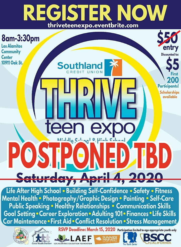 THRIVE Teen Expo image