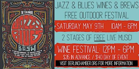 Berlin Jazz & Blues Wine & Brews Festival tickets