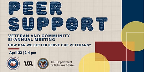 Peer Support Specialist Bi-Annual VA and Community Meeting tickets