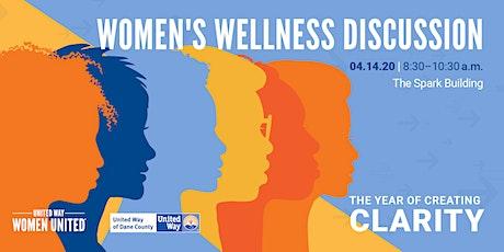 POSTPONED: Women's Wellness Discussion tickets