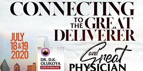 Connecting To The Great Deliverer And Great Physician tickets
