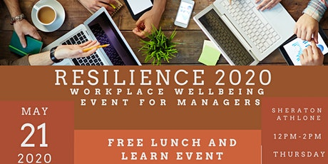 Resilience 2020- Workplace Wellbeing for Managers tickets