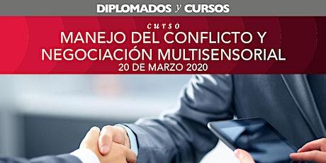 Manejo del Conflicto y Negociación Multisensorial boletos