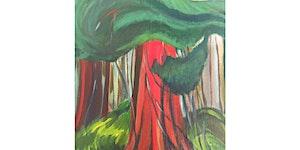 Red Cedar After Emily Carr Paint & Sip Night - Art...