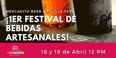 1er Gran Festival de Bebidas Artesanales entradas