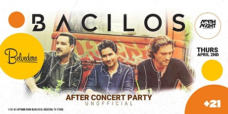 Bacilos After Concert Party tickets