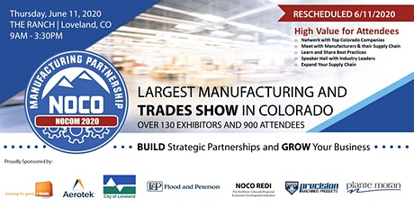 NOCOM Manufacturing & Trades Show 6/11/2020 - General Admission tickets