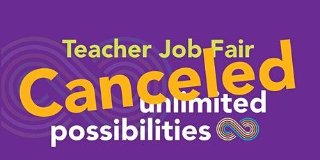 Canceled Charlotte-Mecklenburg Schools 2020 Teacher Job Fair tickets