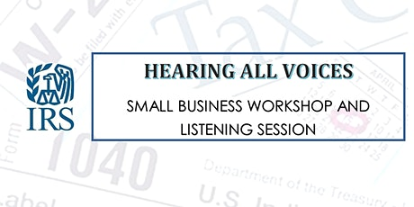 HEARING ALL VOICES - SMALL BUSINESS WORKSHOP AND LISTENING SESSION tickets