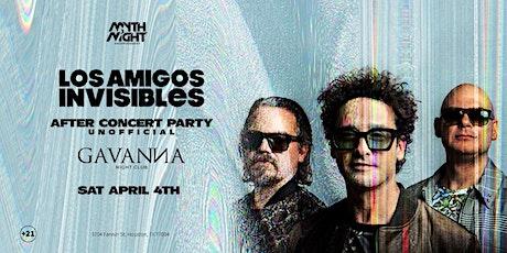 Los Amigos Invisibles After Concert Party tickets