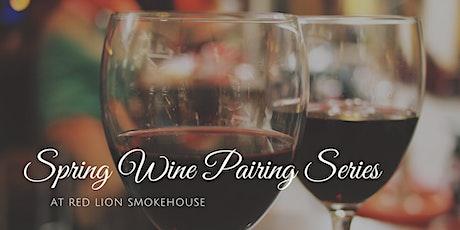 Spring Wine Pairing Series tickets